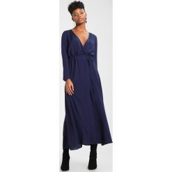 Długie sukienki: NAKD LONG SLEEVE COAT DRESS Długa sukienka dark blue