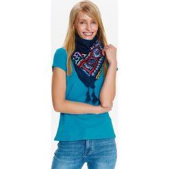 T-shirty damskie: T-SHIRT KRÓTKI RĘKAW DAMSKI, GŁADKI
