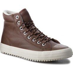 Trampki CONVERSE - Ctas Boot Pc Hi 157685C Dark Clove/Dark Clove. Brązowe tenisówki męskie Converse, z gumy. W wyprzedaży za 339,00 zł.