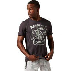 Reebok Koszulka męska RCF Morning Breath Bear Tee czarna r. S (AY1032). Pomarańczowe koszulki sportowe męskie marki Reebok, z dzianiny, sportowe. Za 129,90 zł.