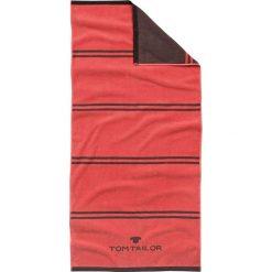 Kąpielówki męskie: Ręcznik w kolorze czerwono-brązowym