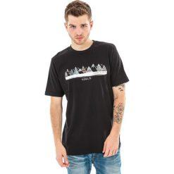 ELBRUS Koszulka męska BERGE black r. XL. Czarne t-shirty męskie marki ELBRUS, m. Za 34,90 zł.
