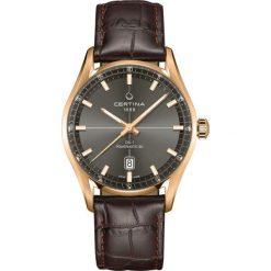 RABAT ZEGAREK CERTINA DS 1 Powermatic 80 C029.407.36.081.00. Szare zegarki męskie CERTINA, ze stali. W wyprzedaży za 3190,00 zł.