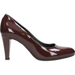 Czółenka FRIDA. Czerwone buty ślubne damskie Gino Rossi, z lakierowanej skóry, na szpilce. Za 179,90 zł.