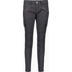 """Spodnie z wysokim stanem: Dżinsy """"Henny"""" - Regular fit - i w kolorze antracytowym"""