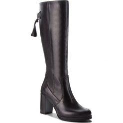 Kozaki LASOCKI - 0035-04 Czarny. Czarne buty zimowe damskie Lasocki, z materiału, na obcasie. Za 349,99 zł.