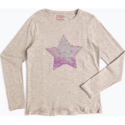 Review - Dziewczęca koszulka z długim rękawem, szary. Szare bluzki dziewczęce z długim rękawem Review. Za 79,95 zł.