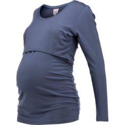 Bluzki asymetryczne: Boob FLATTER ME NURSING Bluzka z długim rękawem blue lake