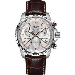 RABAT ZEGAREK CERTINA DS Podium Big Chrono C001.647.16.037.01. Szare zegarki męskie CERTINA, ze stali. W wyprzedaży za 2763,20 zł.