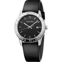 ZEGAREK CALVIN KLEIN STEADY K7Q211C1. Czarne zegarki damskie marki Calvin Klein, szklane. Za 1039,00 zł.