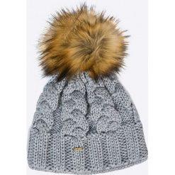 Starling - Czapka Desna. Szare czapki zimowe damskie marki Starling, na zimę, z dzianiny. Za 119,90 zł.