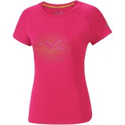 Bluzki sportowe damskie: Mizuno Koszulka Sportowa Core Graphic Tee Diva Pink Xs