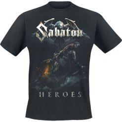 T-shirty męskie z nadrukiem: Sabaton Heroes – Soldier T-Shirt czarny