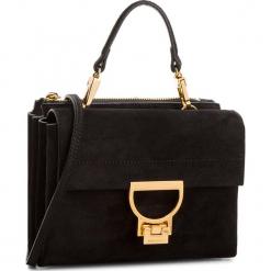 Torebka COCCINELLE - CD6 Arlettis Suede E1 CD6 55 B7 01 Noir 001. Czarne torebki klasyczne damskie marki Coccinelle, ze skóry, duże. W wyprzedaży za 919,00 zł.