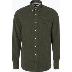 Tommy Hilfiger - Koszula męska, zielony. Białe koszule męskie marki bonprix, z klasycznym kołnierzykiem. Za 449,95 zł.