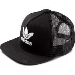 Czapka adidas - Trefoil Trucker BK7308 Black/White. Czarne czapki damskie Adidas, z bawełny. Za 89,00 zł.