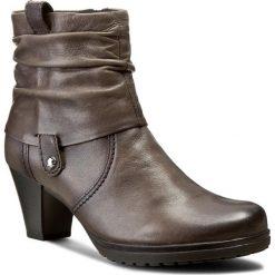 Botki GABOR - 96.083.29 Zinn. Brązowe buty zimowe damskie Gabor, z polaru. W wyprzedaży za 199,00 zł.