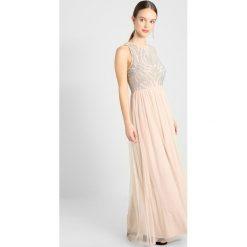 Długie sukienki: Lace & Beads Petite MAILING MAXI Sukienka koktajlowa cream/silver
