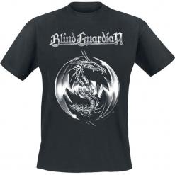 Blind Guardian Tribal Dragon T-Shirt czarny. Czarne t-shirty męskie marki Blind Guardian, l. Za 74,90 zł.