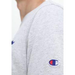 T-shirty męskie z nadrukiem: Champion Reverse Weave CLASSIC APPLIQUÉ  Tshirt z nadrukiem mottled grey