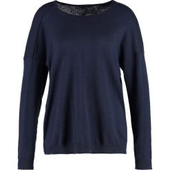 Swetry klasyczne damskie: Sisley Sweter blue