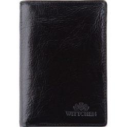 Portfel 21-1-008-1. Czarne portfele męskie Wittchen. Za 299,00 zł.