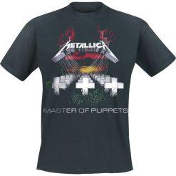Metallica Master Of Puppets T-Shirt czarny. Czarne t-shirty męskie z nadrukiem Metallica, xl, z okrągłym kołnierzem. Za 89,90 zł.