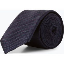 Finshley & Harding London - Krawat jedwabny męski ze spinką, niebieski. Niebieskie spinki do krawatów Finshley & Harding London. Za 149,95 zł.