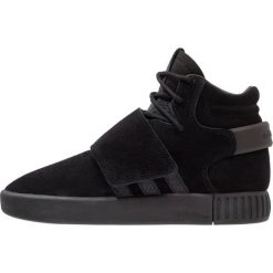 Adidas Originals TUBULAR INVADER STRAP  Tenisówki i Trampki wysokie core black/footwear white. Czarne tenisówki męskie adidas Originals, z materiału. W wyprzedaży za 303,20 zł.