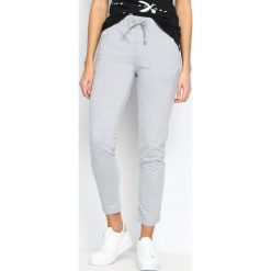 Spodnie dresowe damskie: Szare Spodnie Dresowe Keep Fit