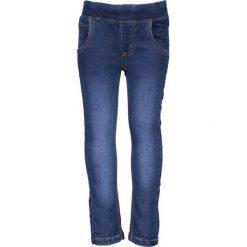 Blue Seven - Jeansy dziecięce 92-128 cm. Niebieskie jeansy dziewczęce Blue Seven, z bawełny. W wyprzedaży za 39,90 zł.