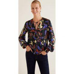Mango - Bluzka Meghan. Czarne bluzki wizytowe marki bonprix, eleganckie. Za 139,90 zł.