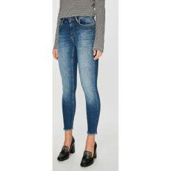 Only - Jeansy. Niebieskie jeansy damskie rurki ONLY, z bawełny. Za 169,90 zł.