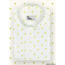 Koszula męska - Palms. Zielone koszule męskie na spinki Pakamera, m. Za 186,00 zł.
