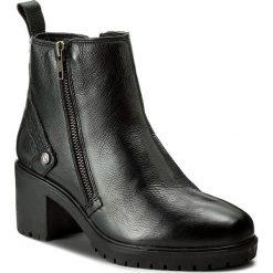 Botki damskie lity: Botki WRANGLER - Sierra Zip Leather WL172513 Black 62