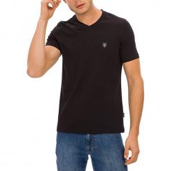 T-shirt w kolorze czarnym. Czarne t-shirty męskie marki GALVANNI, m. W wyprzedaży za 84,95 zł.