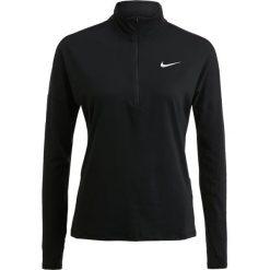 Nike Performance RUNNING DRY Koszulka sportowa black/reflective silver. Czarne topy sportowe damskie Nike Performance, l, z elastanu. Za 219,00 zł.