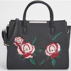 Torba typu City Bag - Czarny. Czarne torebki klasyczne damskie marki Sinsay. Za 79,99 zł.