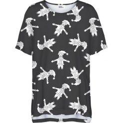 Colour Pleasure Koszulka damska CP-033 293 czarno-biała r. uniwersalny. T-shirty damskie Colour pleasure, uniwersalny. Za 76,57 zł.