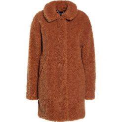 Płaszcze damskie pastelowe: J.CREW TEDDY Płaszcz zimowy brown