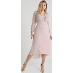 Sukienki hiszpanki: TFNC Curve FABLE HIGH LOW Sukienka koktajlowa new mink