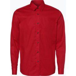 HUGO - Koszula męska – Elisha, czerwony. Niebieskie koszule męskie marki HUGO, m, z bawełny. Za 429,95 zł.