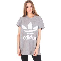 Bluzki asymetryczne: Adidas Koszulka damska Originals Trefoil Tee CY4762 CY4762 szara r. 34 (CY4762)