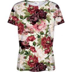 Colour Pleasure Koszulka damska CP-030 187 beżowo-bordowa r. XXXL/XXXXL. Brązowe bluzki damskie marki Colour pleasure. Za 70,35 zł.