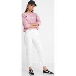 Bluzki asymetryczne: Champion Reverse Weave CLASSIC BIG LOGO Bluzka z długim rękawem mau