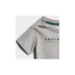 Zestawy dresowe adidas  Zestaw z koszulką EQT. Czarne t-shirty dziewczęce marki Nike. Za 89,50 zł.