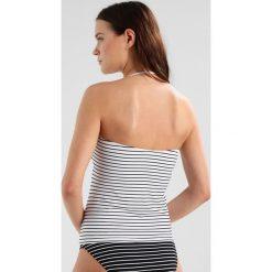 Polo Ralph Lauren LACED TUBINI Góra od bikini white/black. Białe bikini Polo Ralph Lauren. Za 419,00 zł.