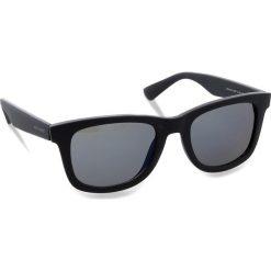 Okulary przeciwsłoneczne BOSS - 0213/S Matt Blue LDT. Niebieskie okulary przeciwsłoneczne damskie aviatory Boss. W wyprzedaży za 449,00 zł.