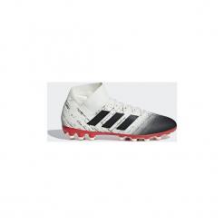 Buty do piłki nożnej adidas  Buty Nemeziz 18.3 AG. Białe halówki męskie Adidas, do piłki nożnej. Za 379,00 zł.