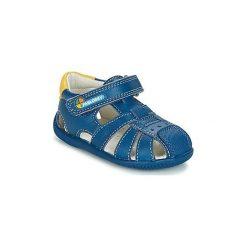 Sandały Dziecko  Pablosky  NEDURE. Niebieskie sandały chłopięce Pablosky. Za 153,30 zł.